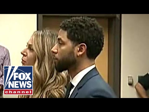 Actor Jussie Smollett pleads not guilty to 16 felony charges