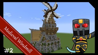 Download Minecraft Tutorial How To Build A Realistic Medieval Windmill Videos