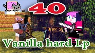 ч.40 Minecraft Vanilla hard Lp - Долгий путь домой (с коровкой)