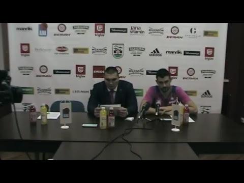LIVE Press | KK Mega Bemax - KK Cedevita (28.10.2017.)