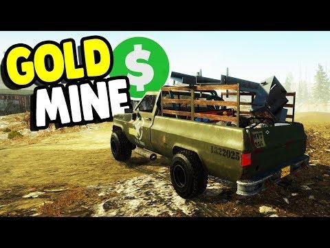 GOLD MINE START UP - $1,000,000,000 DREAM   Gold Rush: The Game Gameplay