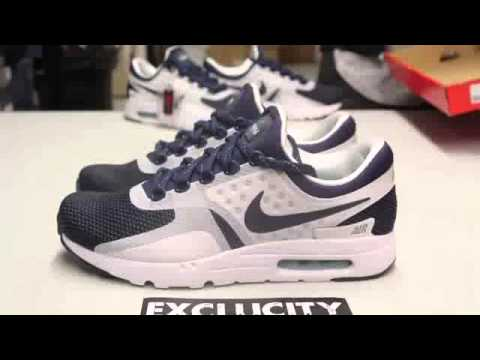Nike Air Max Zero QS Unboxing Video at Exclucity