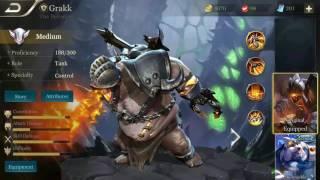 Strike Of Kings Grakk Gameplay
