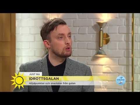 """Idrottsgalan: """"Sara Sjöström största stjärnan"""" - Nyhetsmorgon (TV4)"""