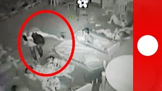 Alarming CCTV shows child abuse in Romanian kindergarten