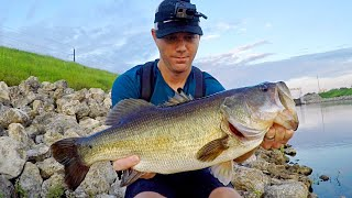 BASS FISHING BATTLE with the STRONGEST FISH