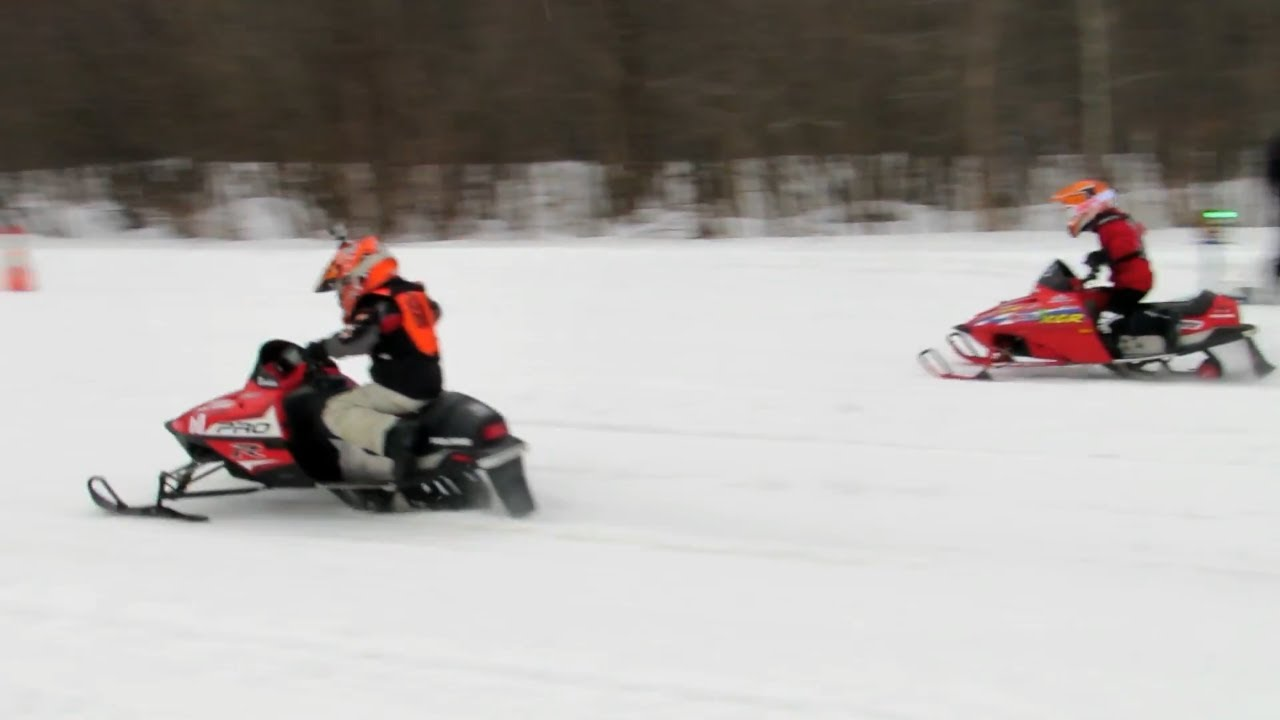 MODIFIED 120 CC POLARIS WITH POWER - SUPER FAST!   Just Snowmobiles