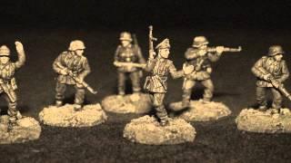 PSC 1/72 Late War German Infantry for Bolt Action game