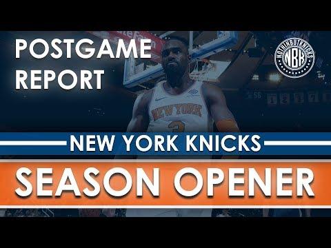 New York Knicks vs Atlanta Hawks Postgame Report LIVE from Madison Square Garden
