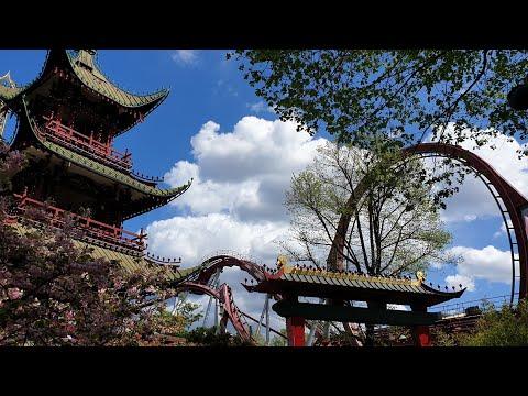 Tivoli Gardens Complete Park Tour 2019 Tivoli The Worlds 2nd Oldest Theme Park, Copenhagen, Denmark