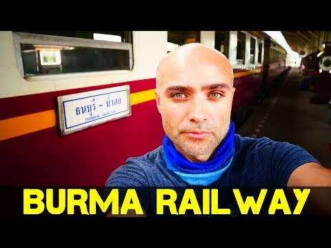 Bangkok to River Kwai by Train Vlog (Kanchanaburi River Hotel)