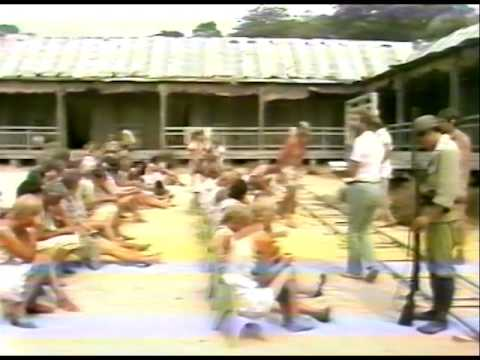 TENKO FILMING IN WARMWELL, DORSET IN 1982
