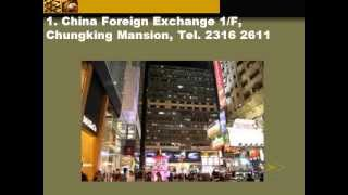 Where to find best rate money changer in Hong Kong  ?