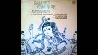 Ramnad Krishnan Kaccheri A Concert of South Indian Classical Music