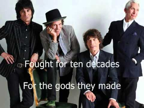 The Rolling Stones - Sympathy for the devil (with lyrics)