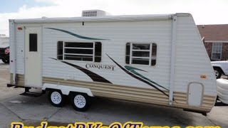 2006 21ft Conquest Bumper Pull Travel Trailer  A Great Half-Ton Towable RV by Gulf Stream