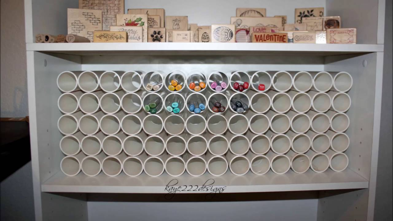 Craft room storage ideas youtube Homemade craft storage ideas