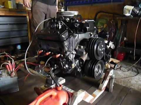 Uruchamianie Silnika V6 4 3l  262cid  Chevrolet