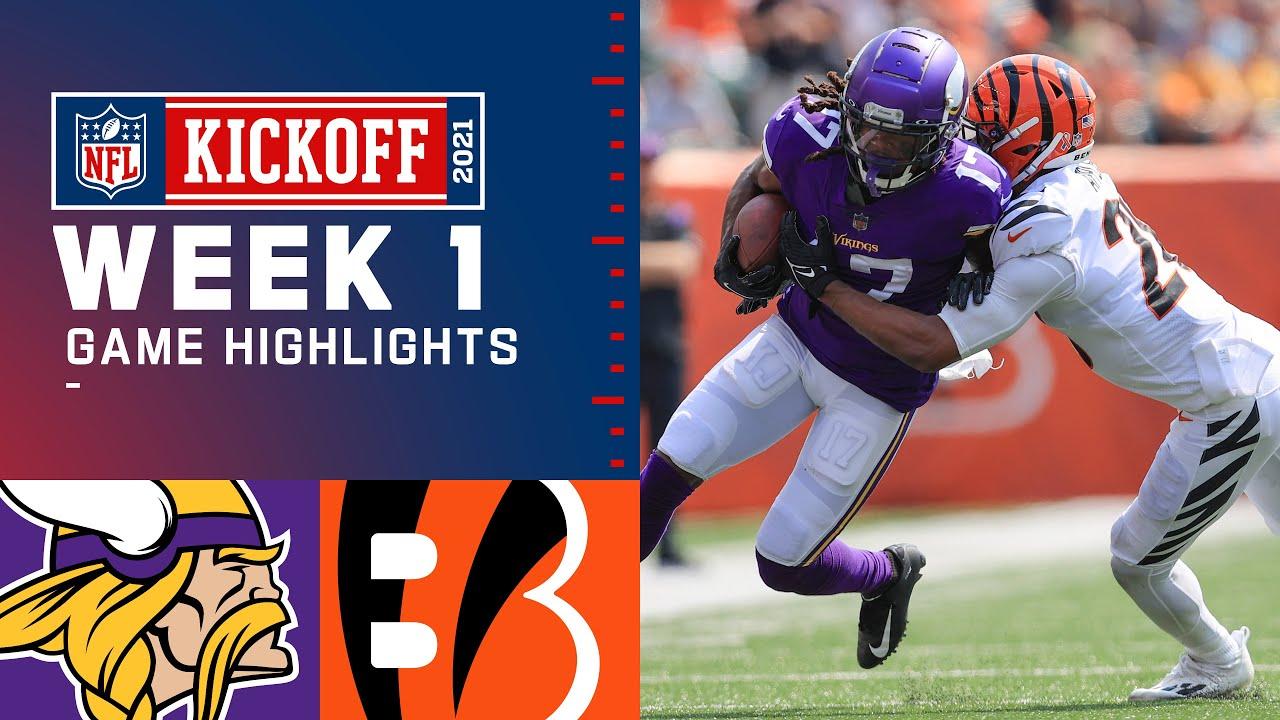 Download Vikings vs. Bengals Week 1 Highlights | NFL 2021