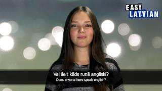 10 Phrases in Latvian to ask which languages someone speaks - Easy Latvian Basic Phrases (2)