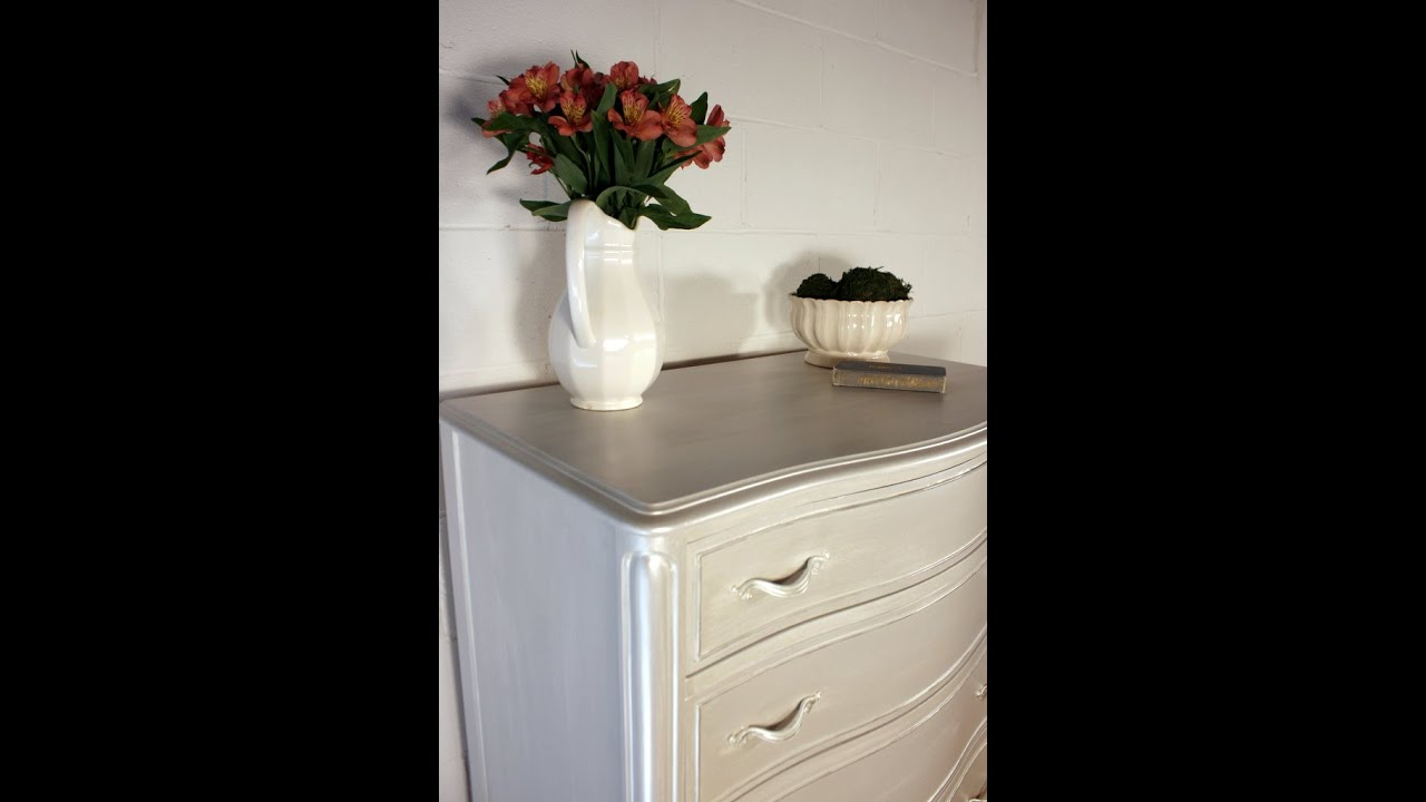 white furniture paintPearl Effects Tutorial  YouTube