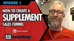 How To Create A Sales Funnel For Supplements In 30 Minutes