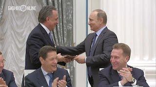 Путин подарил Мутко самоучитель английского языка