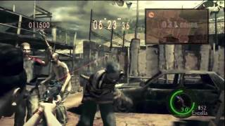 Resident Evil 5 - Mercenaries Reunion - Public Assembly - Solo Excella Gionne - Part 1/2
