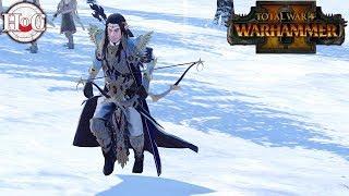 2v2 High Elves vs Norsca/Dark Elves - Total War Warhammer 2 - Online Battle 159