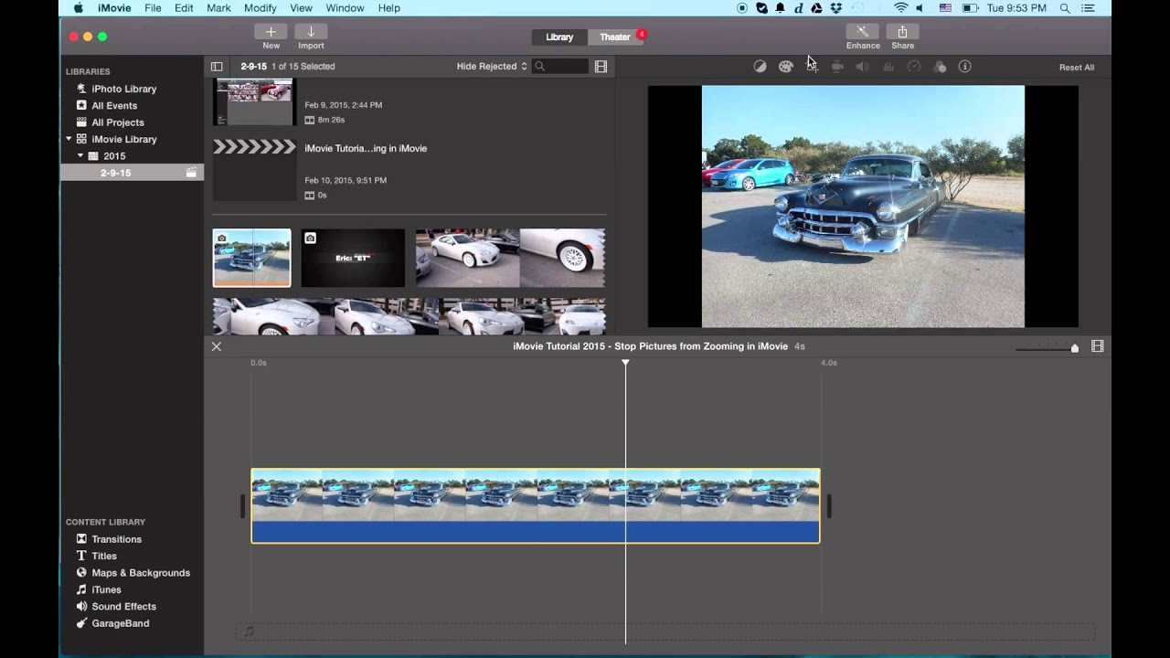 Imovie tutorial 2015 stop pictures from zooming in imovie youtube imovie tutorial 2015 stop pictures from zooming in imovie ccuart Images