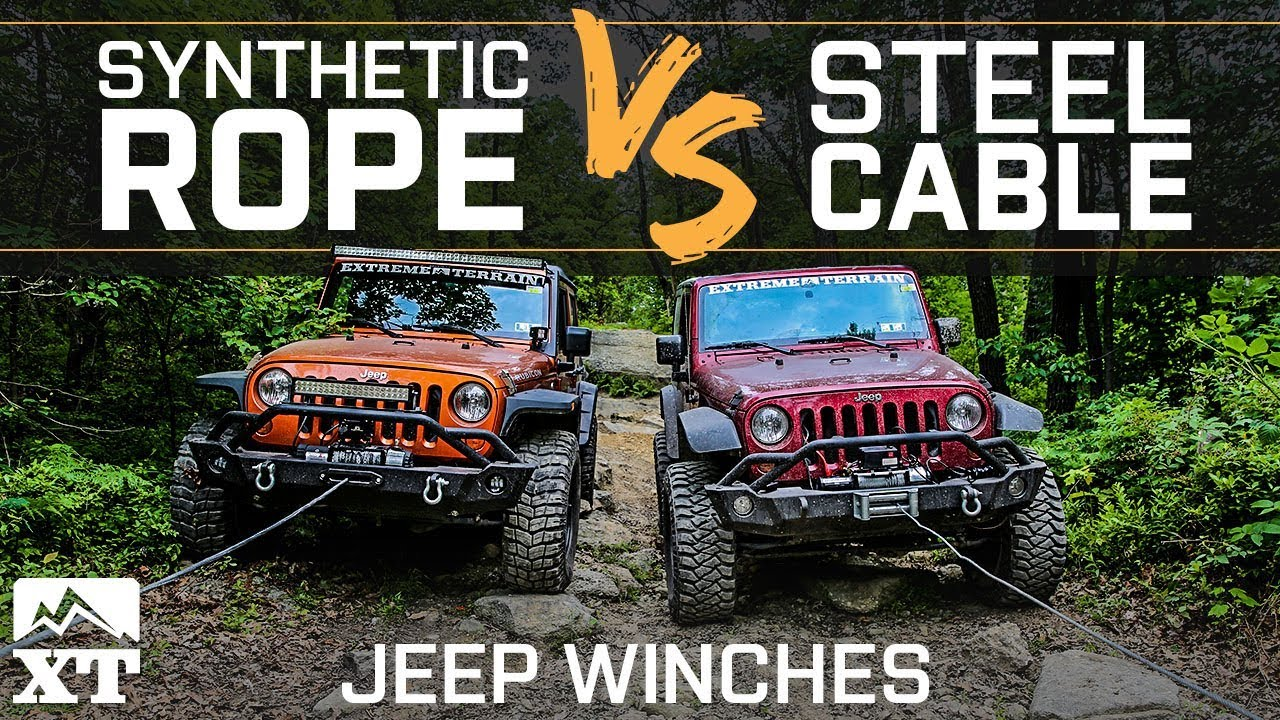 Winch For Jeep >> The Best Winch Line For Your Jeep Wrangler Steel Cable Vs