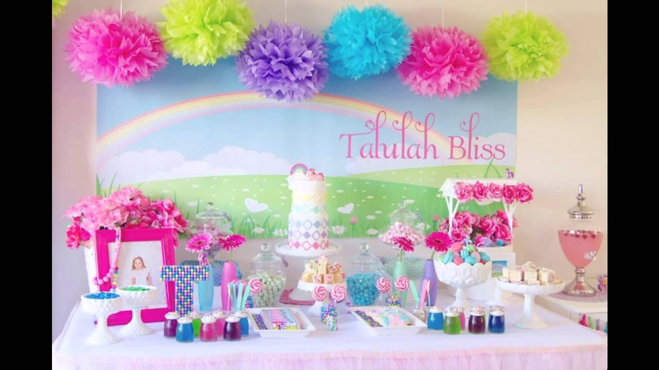 Good My Little Pony Themed Birthday Party Ideas