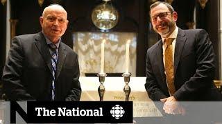 Candlesticks saved during Nazi invasion find home at Toronto synagogue