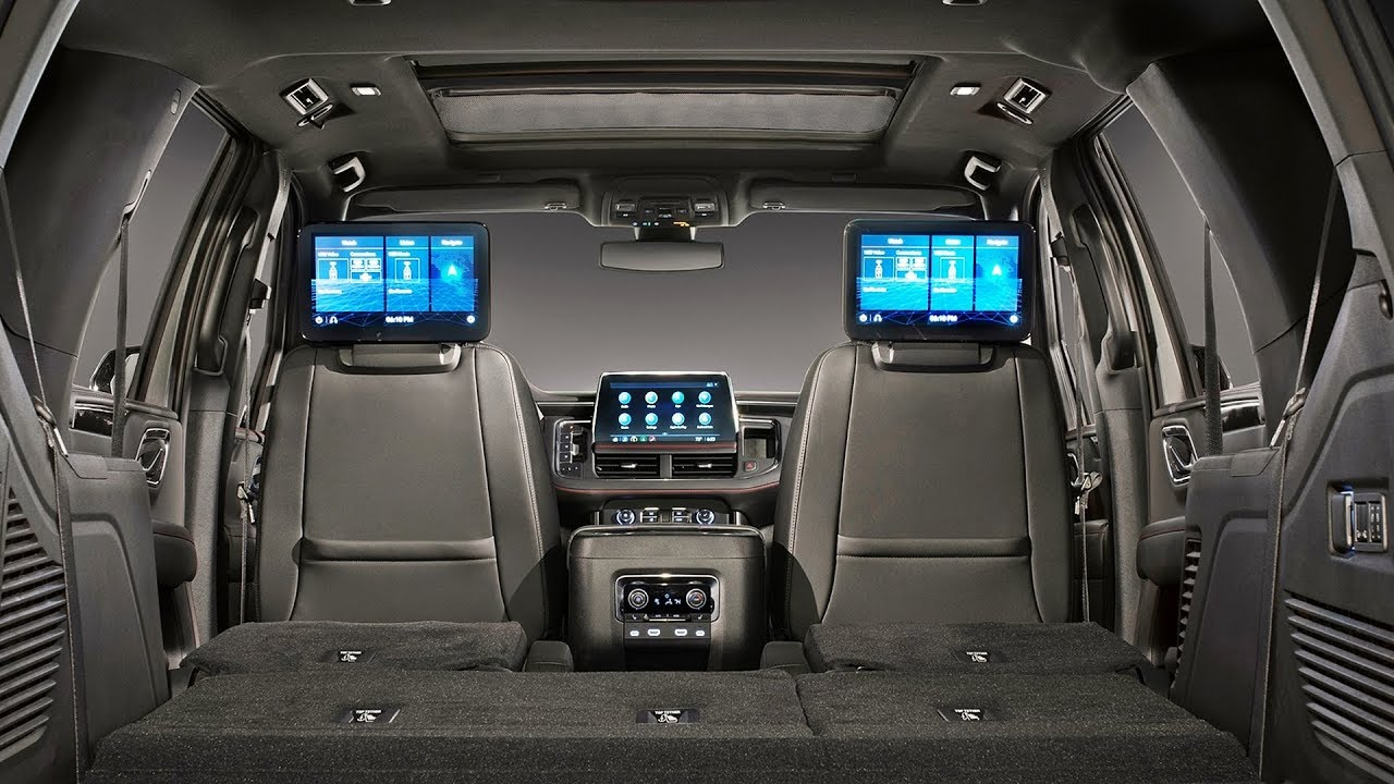 2021 Chevrolet TAHOE - INTERIOR - YouTube