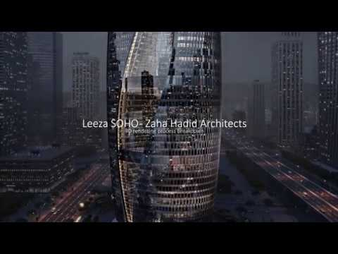 Making of Leeza SOHO - Zaha Hadid Architects