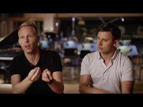 THE GREATEST SHOWMAN Official Behind The Scenes Interview - Benj Pasek & Justin Paul