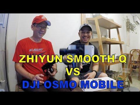 Indonesia Review Zhiyun Smooth Q Si DJI Osmo Mobile Killer - Bisa Pakai XIAOMI YI Dan GOPRO