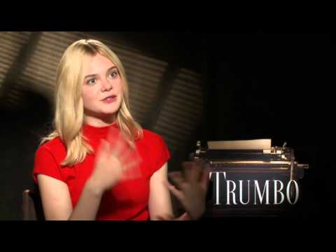Trumbo: Elle Fanning Official Movie Interview