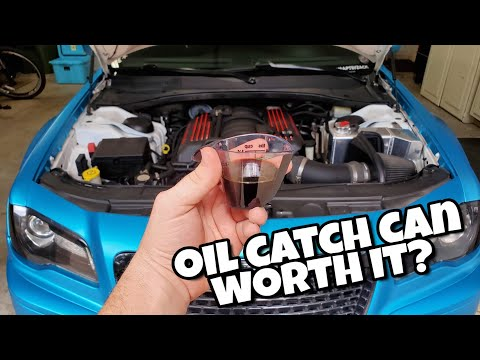 Do Oil Catch Cans Work? | Review after 3600 miles | 2013 Chrysler 300 SRT8 392 | 6.4 Hemi