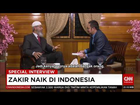 Special Interview | Dr. Zakir Naik in Indonesia | CNN Indonesia