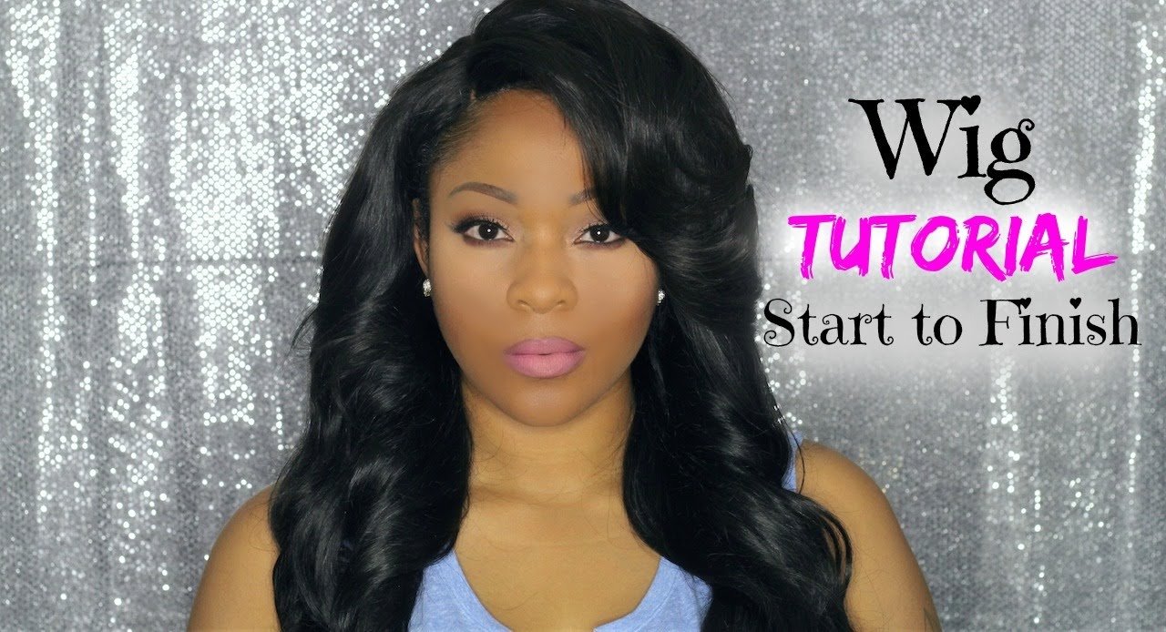 Hair Tutorial How I Make A Full Wig With Lace Closure