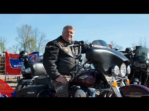 Motorclub Black Jacks in actie voor KWF