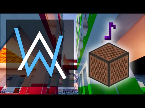 Alan Walker - Sing Me To Sleep - Minecraft Note Block Cover