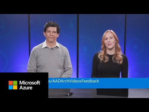 Identity Architecture: Federated Authentication | Azure Active Directory