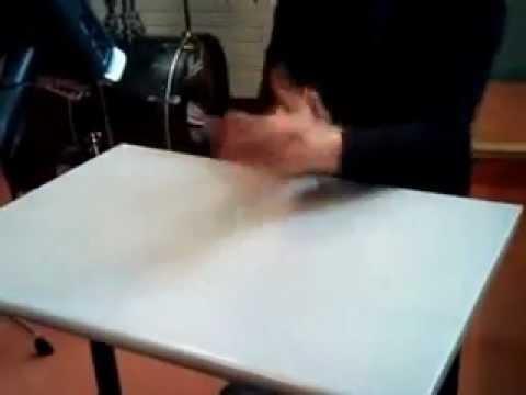 Collège Saint Exupéry Ermont: Percussions sur table Vidéo Oussama 2010