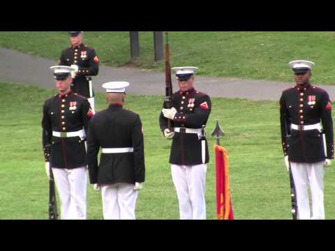 Marine Corps Discipline - Rifle Inspection