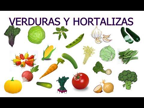 Las verduras y hortalizas para nios  YouTube