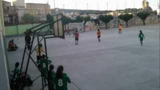 Gol de Patri Col·legi Sta. Maria Femení. Santa Maria vs Sant Josep.