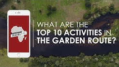 What are the top 10 activities along the Garden Route? Rhino Africa's Travel Tips