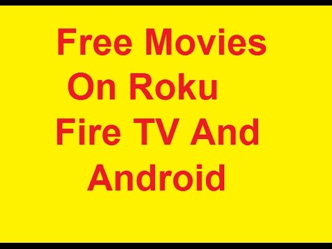 Watch Free Movies On Roku Fire TV And More Pluto tv on demand - YouTube